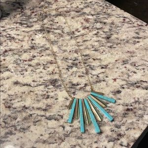 5/$25- turquoise necklace